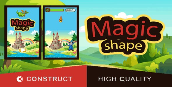 Magic Shape - HTML5 Game (capx)