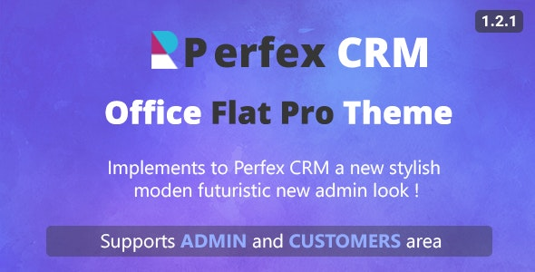 Perfex CRM Office Theme - CodeCanyon Item for Sale