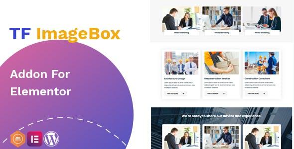 Image Box addon - widget for Elementor