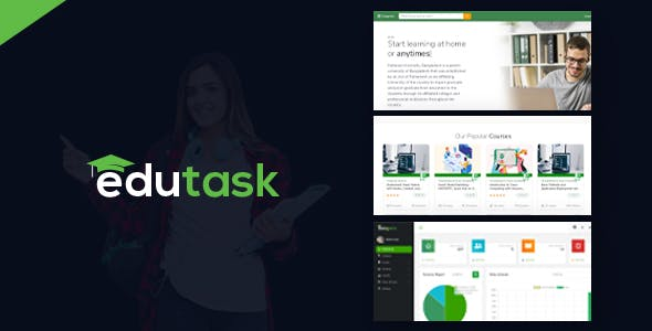 Edutask - Online Course Selling Marketplace