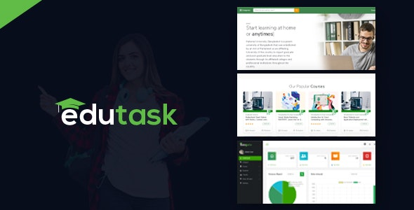 Edutask - Online Course Selling Marketplace - CodeCanyon Item for Sale