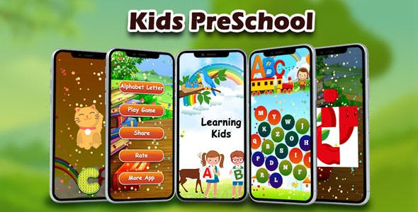 ABC PreSchool Kids : Alphabet for Kids ABC Learning - Android Game + Admob + Facebook
