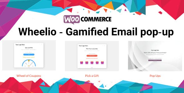 WooCommerce Wheelio-Gamefied Email Pop-up Plugin