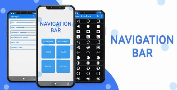 Navigation Bar (Back, Home, Recent Button) - Android App + Admob + Facebook Integration