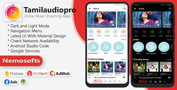 Tamilaudiopro - Online Music Streaming Apps