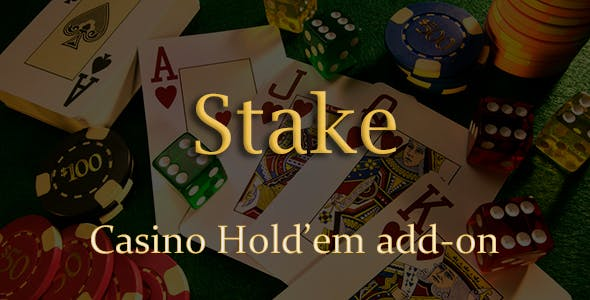 Casino Hold'em Poker Add-on for Stake Casino Gaming Platform