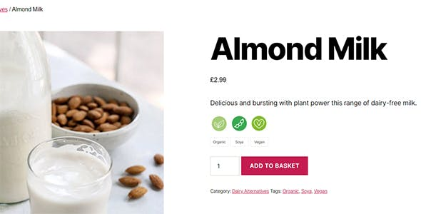 WooCommerce Food Labels
