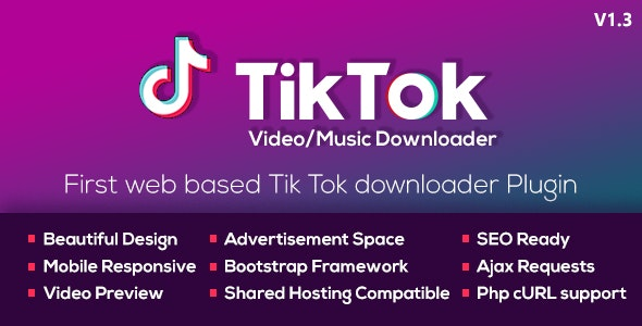 Tiktok Video And Music Downloader With No Watermark By Hardikforall