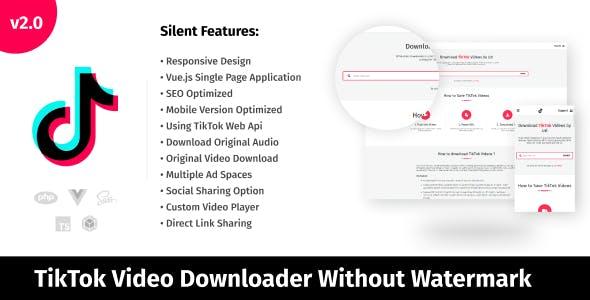 TikTok Video Downloader Without Watermark & Audio Extractor