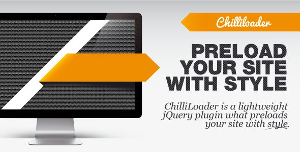 ChilliLoader - preloader with style - CodeCanyon Item for Sale