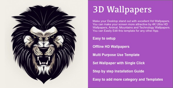 3D Wallpapers for MAC - CodeCanyon Item for Sale