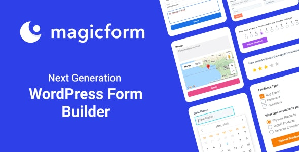MagicForm - WordPress Form Builder - CodeCanyon Item for Sale