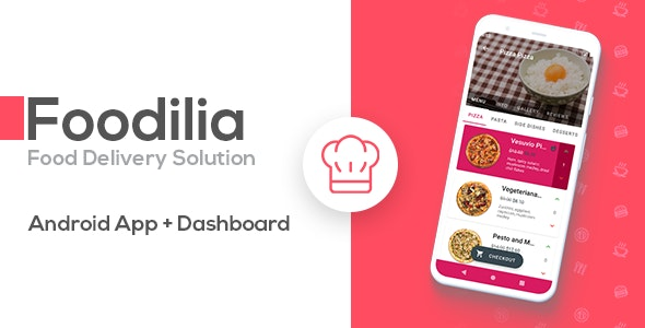 Foodilia - Food Delivery Android Solution - CodeCanyon Item for Sale