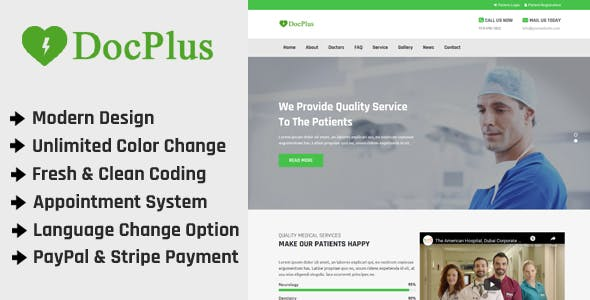 Docplus - Online Multi Doctor Appointment Management