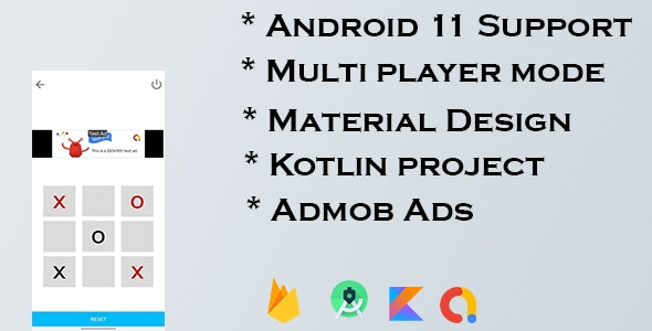 Ultimate TicTacToe Puzzle Game with Admob Ads - CodeCanyon Item for Sale