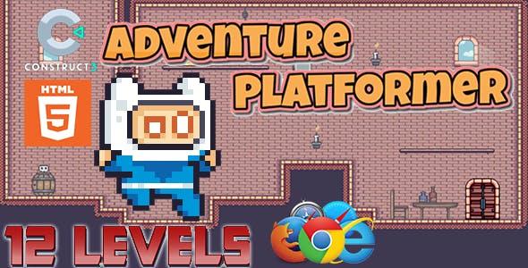 Adventure Platform- HTML5 Mobile Game