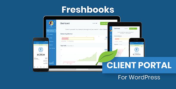 WP Freshbooks Client Portal