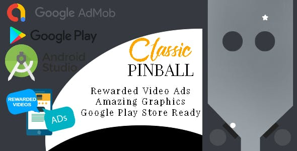 Classic Pinball - Android Studio - AdMob Ads Reward Video