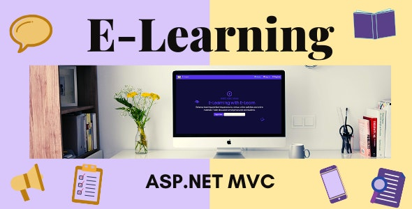 E-Learning- Learning Management System (ASP.NET MVC) - CodeCanyon Item for Sale
