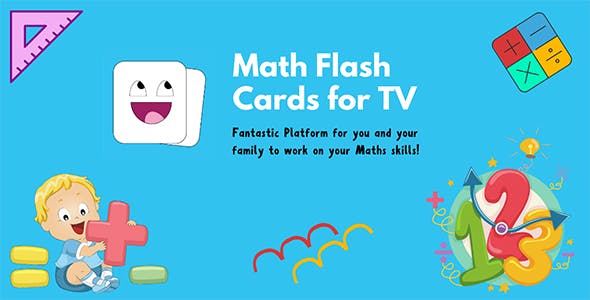 Math Flash Cards For Apple TV