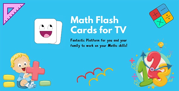 Math Flash Cards For Apple TV - CodeCanyon Item for Sale