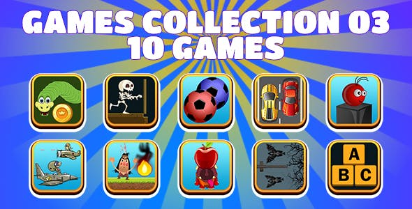 Game Collection 03 (CAPX and HTML5) 10 Games
