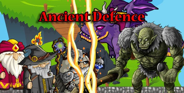 Ancient Defence - Unity Game Project