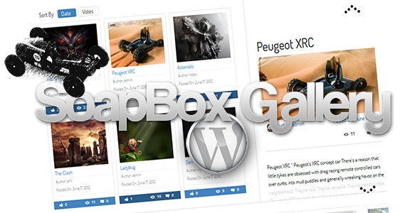SoapBox Gallery For WordPress - CodeCanyon Item for Sale