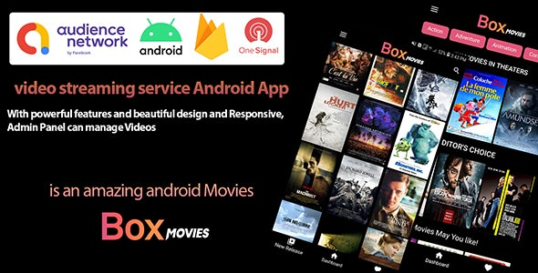 Box Movies - Video Streaming and Movie Android App - CodeCanyon Item for Sale