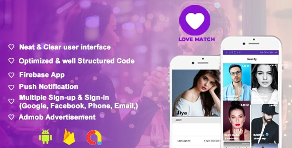 Fynder - Find, Chat,Meet - Realtime Chat Application with Firebase, Dating App - CodeCanyon Item for Sale