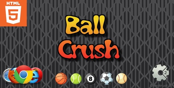 Ball Crush - HTML5 Game - Casual Game