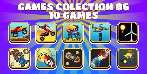Game Collection 06 (CAPX and HTML5) 10 Games - CodeCanyon Item for Sale