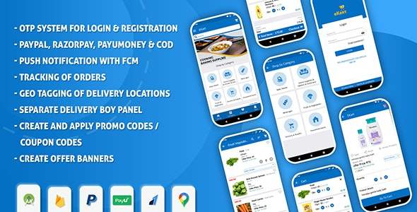 eKart - Android e-commerce app - CodeCanyon Item for Sale