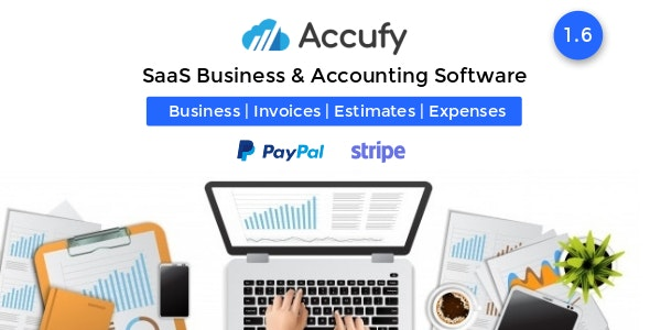 Accufy v1.6 NULLED – SaaS software for business and accounting