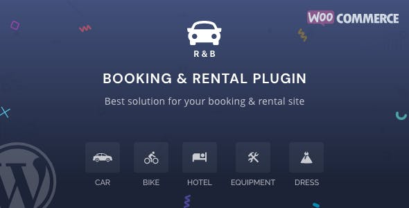 RnB - WooCommerce Booking & Rental Plugin