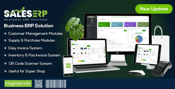 ERP – Business ERP Solution / Product / Shop / Company Management