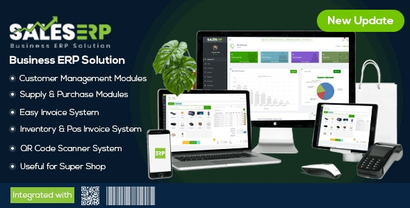 ERP – Business ERP Solution / Product / Shop / Company Management - CodeCanyon Item for Sale
