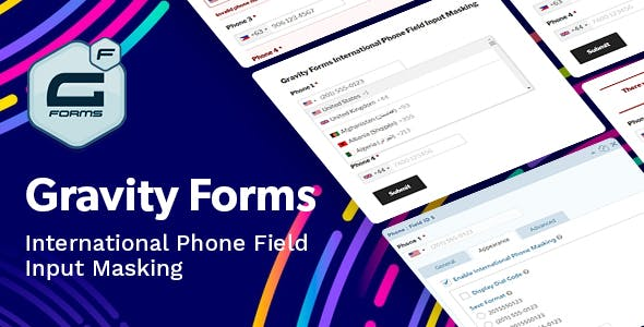 Gravity Forms International Phone Field Input Masking