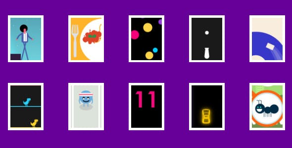 (10) Hyper-Casual Games | HTML5 GAME BUNDLE