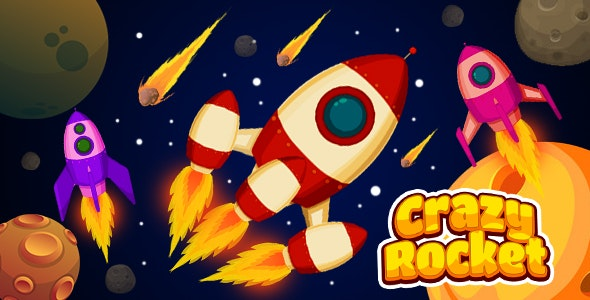 Crazy Rocket (CAPX and HTML5) - CodeCanyon Item for Sale