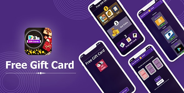 Gift Wallet - Free Reward Card - Android App + Admob + Facebook Integration - CodeCanyon Item for Sale