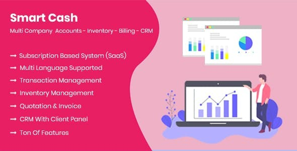 Smart Cash - Multi Company Accounts Billing & Inventory(SaaS)