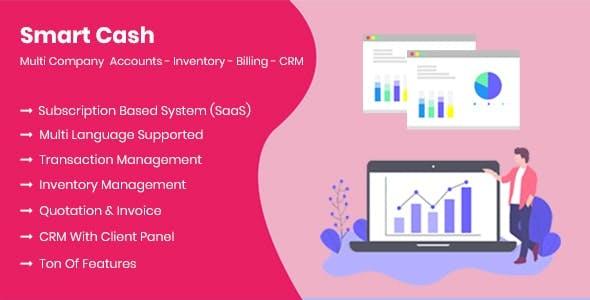 Smart Cash - Multi Company Accounts Billing & Inventory(SaaS)