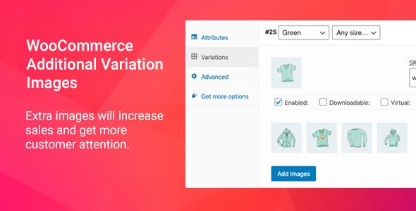 Aloz - Additional Variation Images Plugin for WooCommerce