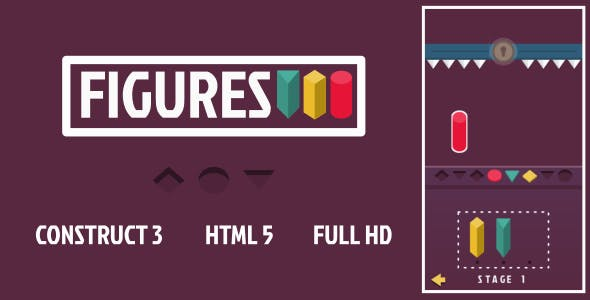 Figures - HTML5 Game (Construct3)