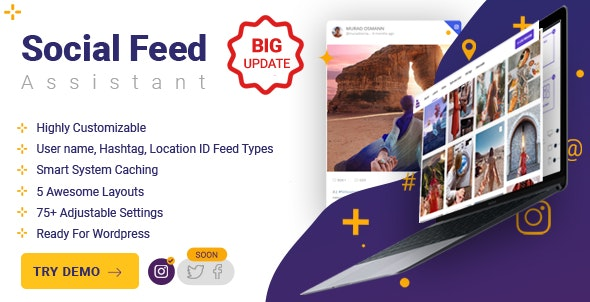 Social Feed Assistant - CodeCanyon Item for Sale