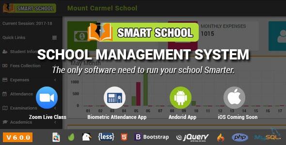 Smart School School Management System By Qdocs Codecanyon