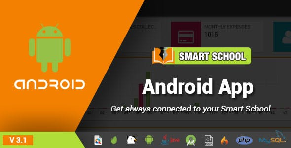 Smart School Android App - Mobile Application for Smart School