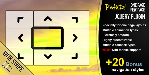 PathD! - One Page Few Page jQuery Plugin - CodeCanyon Item for Sale