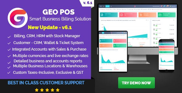 Geo POS - Point of Sale, Billing and Stock Manager Application